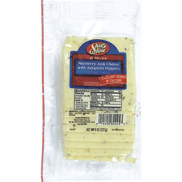 Sliced Monterey Jack Cheese with Jalapeno Peppers | Market