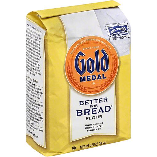 Gold Medal® Unbleached Bread Flour 5.0 lb Bag