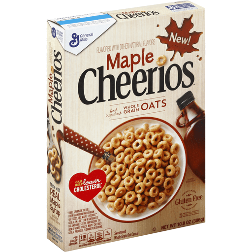 Cheerios Cereal, Sweetened Whole Grain