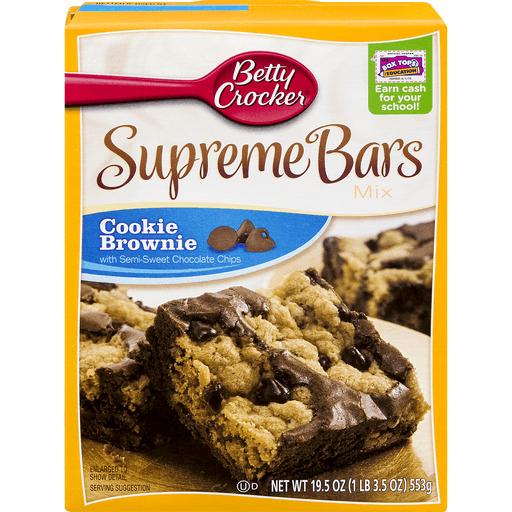 Betty Crocker Delights Bars Mix, Cookie Brownie