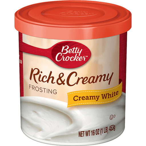 Betty Crocker® Gluten Free Frosting Rich & Creamy White 16.0 oz Canister