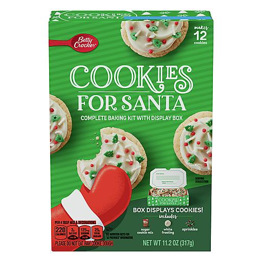 Betty Crocker Holiday Santa Cooke Kit