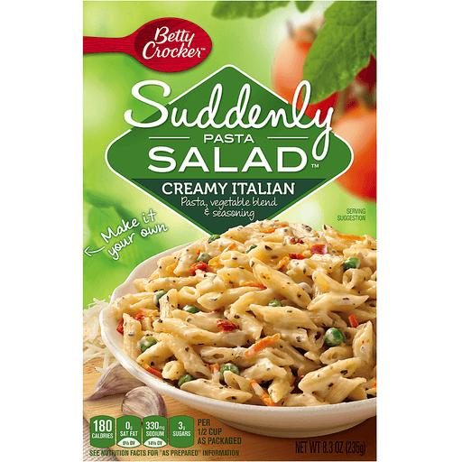 Betty Crocker® Suddenly Salad Creamy Italian Pasta Salad 8.3 oz Box