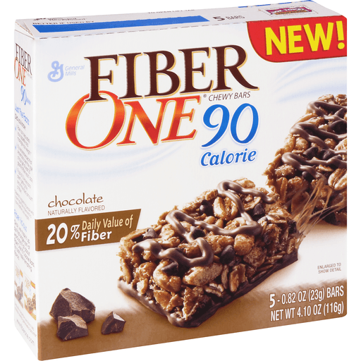 Fiber One 90 Calorie Chewy Bars, Chocolate