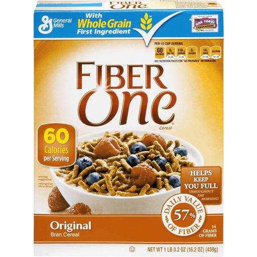Fiber One Cereal, Bran, Original