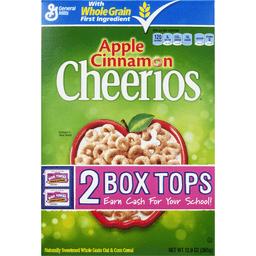 Cheerios Cereal Apple Cinnamon