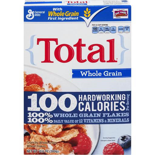 Total™ Cereal Whole Grain 10.6 oz Box