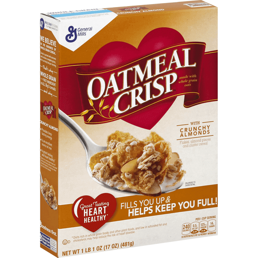 Oatmeal Crisp Cereal, with Crunchy