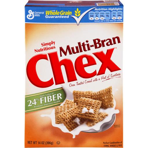 General Mills Multi-Bran Chex Cereal