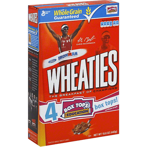 Wheaties Whole Wheat Flakes Cereal, 15.6 Oz