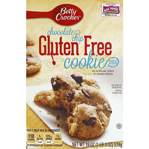 Betty Crocker Gluten Free Cookie Mx-Choc Chip