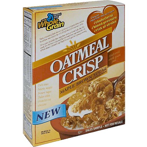 Oatmeal Crisp Cereal, Maple Brown Sugar