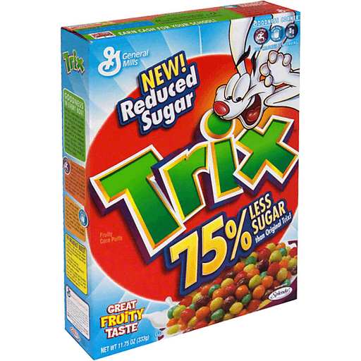 Trix Cereal, Reduced Sugar   Clements'