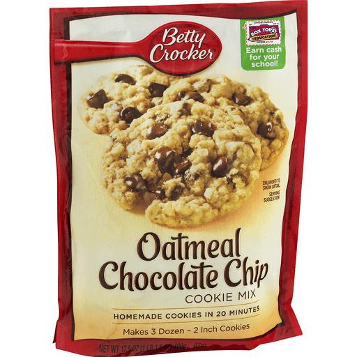 Betty Crocker Cookie Mix, Oatmeal Chocolate Chip