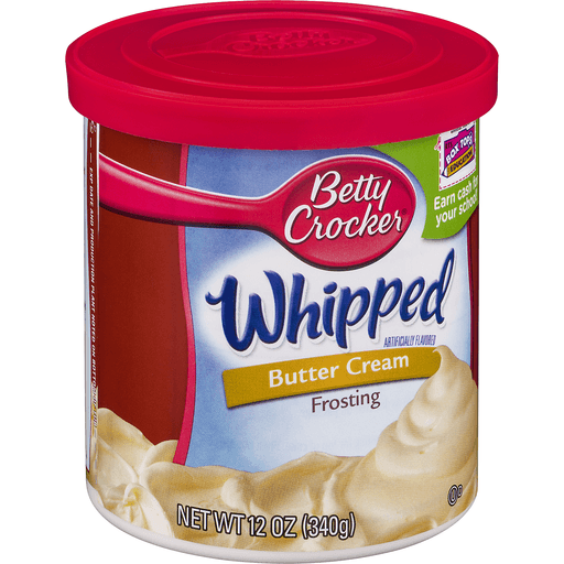 Betty Crocker Whipped Frosting, Butter Cream