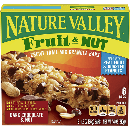 Nature Valley Granola Bars Trail Mix Chewy Dark Chocolate Toaster Pastries Breakfast Bars Foodtown