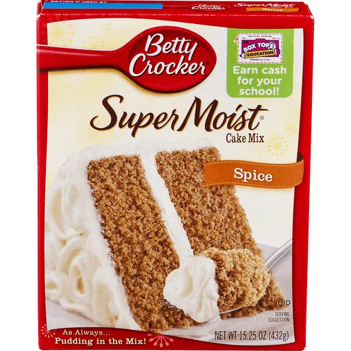 Betty Crocker Delights Cake Mix, Super Moist, Spice