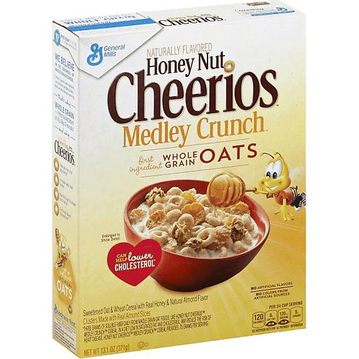 Honey Nut, Medley Crunch   Cereal