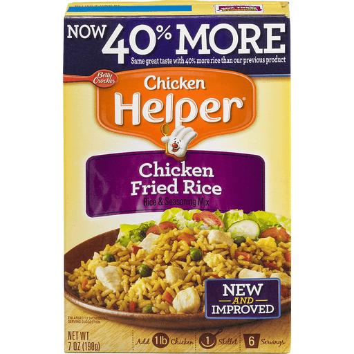 Chicken Helper Chicken Fried Rice