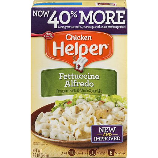 Chicken Helper Chicken Fettuccine Alfredo
