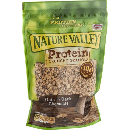 Nature Valley Protein Granola, Oats 'N Dark Chocolate