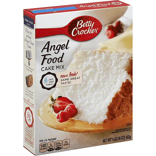Betty Crocker Cake Mix, Angel Food