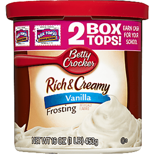 Betty Crocker Rich & Creamy Frosting, Vanilla