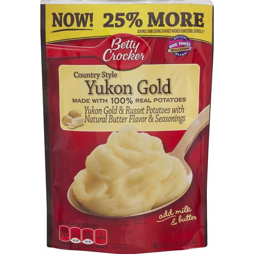 Betty Crocker Potatoes, Yukon Gold, Country Style