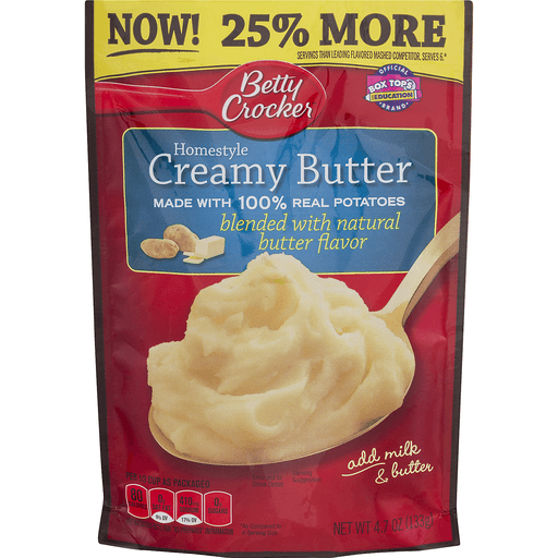 Betty Crocker Potatoes, Creamy Butter