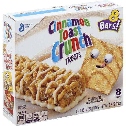 Cinnamon Toast Crunch Treats, Bars
