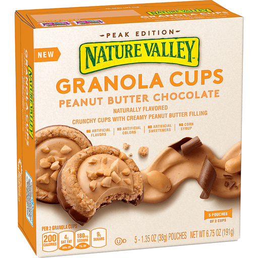 Nature Valley Granola Cups, Peanut Butter Chocolate
