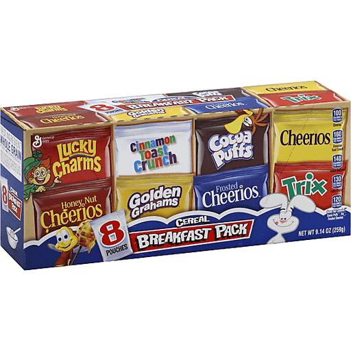 General Mills Cereal, Variety 8 Pack