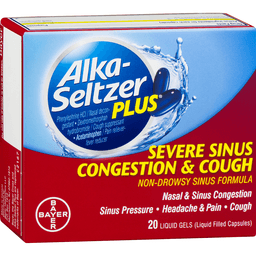 Alka Seltzer Plus Severe Sinus Congestion and Cough Non