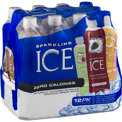 Sparkling Ice Zero Calories Sparkling Water Variety Pack - 12 PK