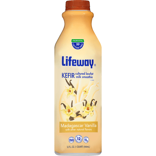Lifeway® Madagascar Vanilla Kefir 32 fl. oz. Bottle