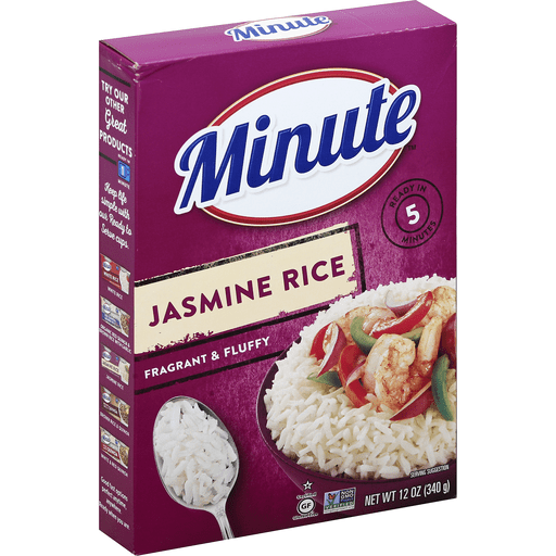 Minute Jasmine Rice Shop Shop N Save