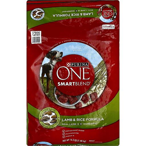 Purina One Smartblend Dog Food Premium Adult Lamb Rice Formula