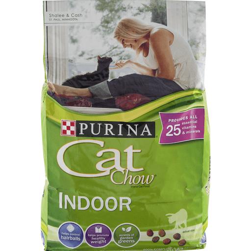 Cat Chow Cat Food, Adult, Indoor, + Immune Health Blend