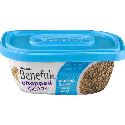 Beneful Chopped Blends Dog Food, with Beef, Carrots, Peas & Barley