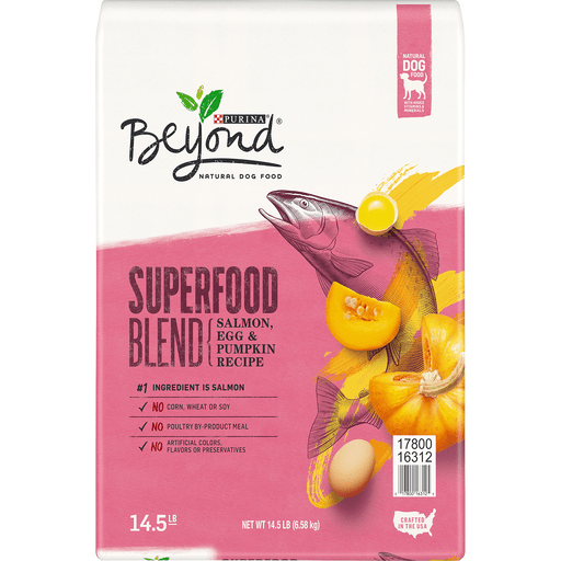 Purina Beyond Natural Dog Food Superfood Blend Salmon, Egg ...