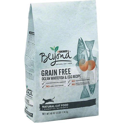 Purina Beyond Cat Food >> Purina Beyond Cat Food Natural Grain Free Ocean Whitefish Egg Recipe