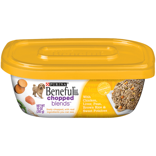 Purina Beneful Chopped Blends Dog Food Chicken, Liver, Peas, Brown Rice & Sweet Potatoes