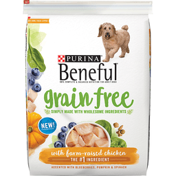 Purina Beneful Grain Free Dog Food with Farm-Raised Chicken
