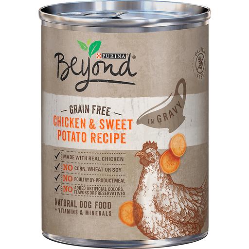 Beyond Dog Food, Natural, Grain Free, Chicken & Sweet Potato Recipe