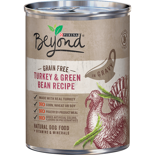 Beyond Dog Food, Natural, Grain Free, Turkey & Green Bean Recipe