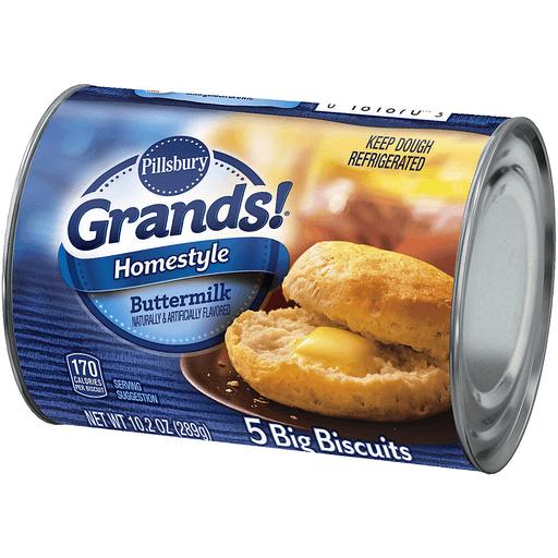 Pillsbury Grands! Biscuits, Homestyle, Buttermilk