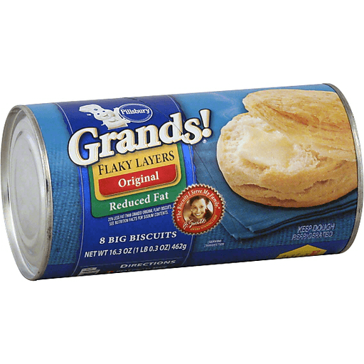 Pillsbury Grands Flaky Layers Biscuits Original Reduced Fat Biscuits Foodtown