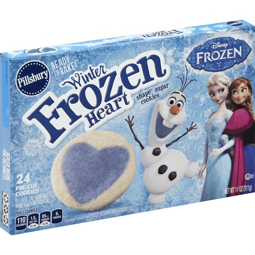 Pillsbury Cookies, Sugar, Winter Frozen