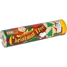 Pillsbury Charlie Brown Cookies Sugar Christmas Tree Shape Teals