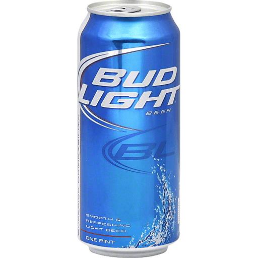 Bud Light Cans - 6 PK